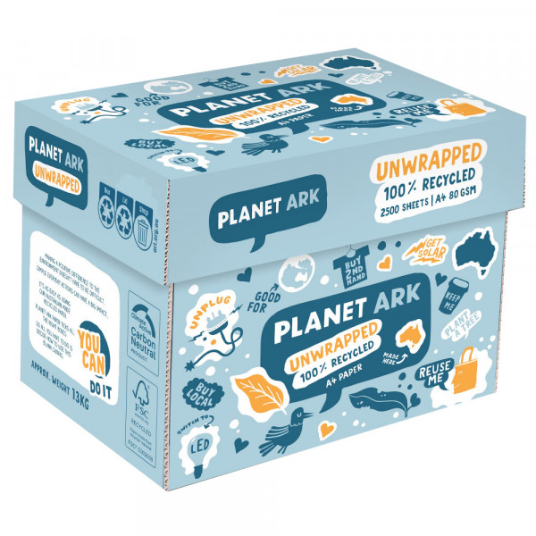 Unwrapped planet Ark Paper 100%  Recycled, A4 - Bo...