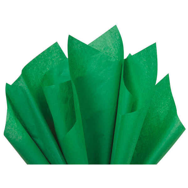Recycled Tissue Paper - Green 100% Recycled ( Pk of 24 sheets )