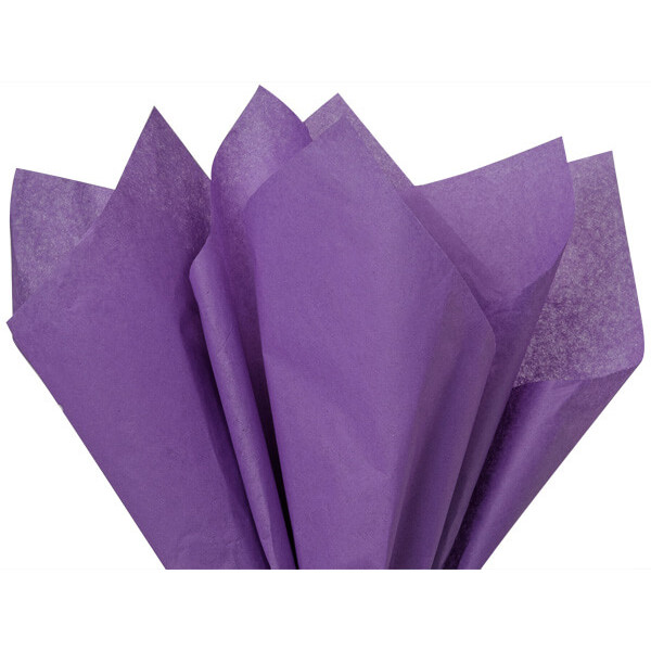 Recycled Tissue Paper - Lavender 100% Recycled ( P...