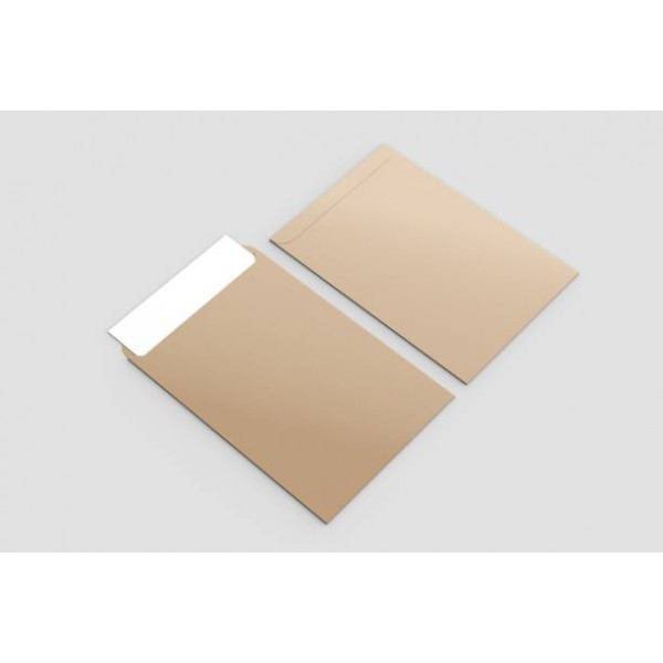 Eco C4 Recycled Plainface Envelopes Box of 250