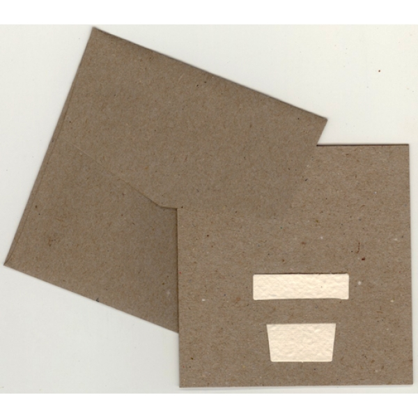 Eco Brown card with plantable seeded paper pot ins...