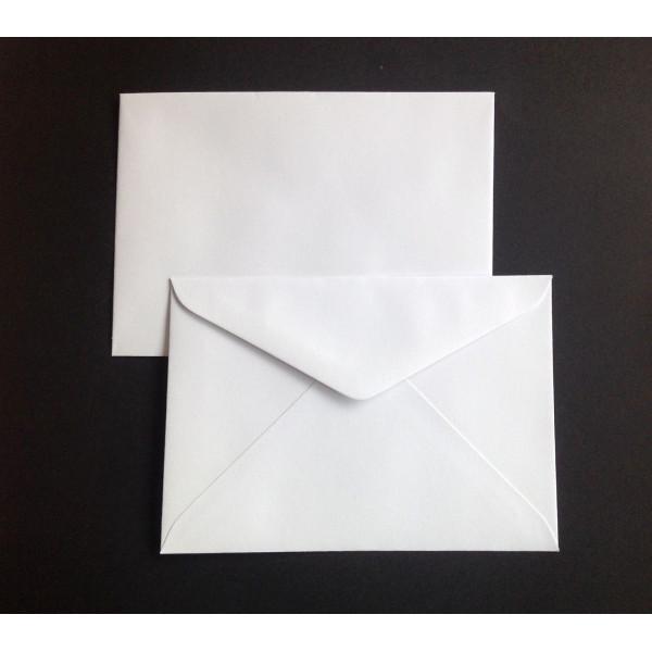 Eco White C6 Envelopes Box (500)