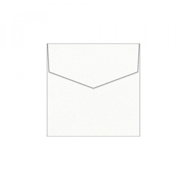 Eco White Recycled Envelopes 105mm Square (Pack Of...