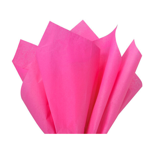 Recycled Tissue Paper - Hot Pink 100% Recycled ( P...