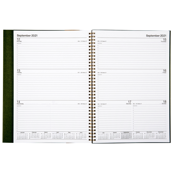 Earthcare Recycled A4 Diary (Week to a View)