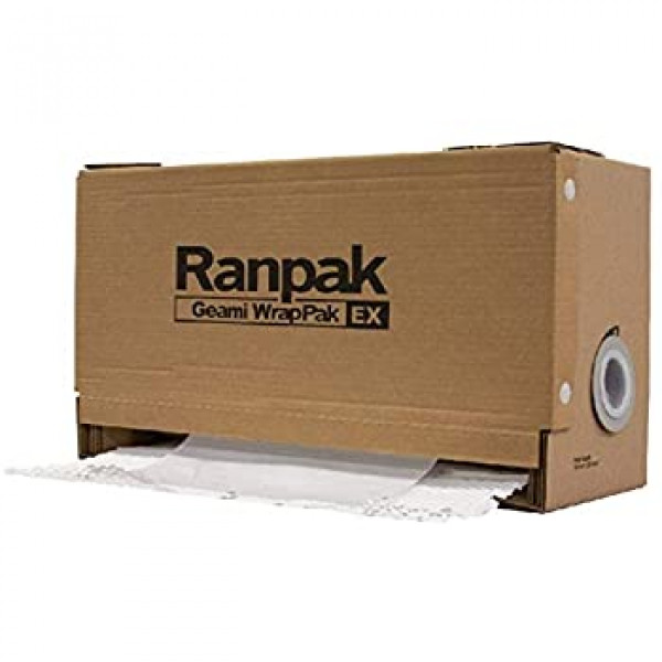 GreenWrap ExBox - Paper Packaging ( white on white...