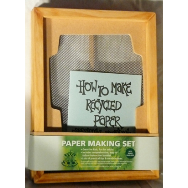Paper Making Set - A4 and C6 envelopes