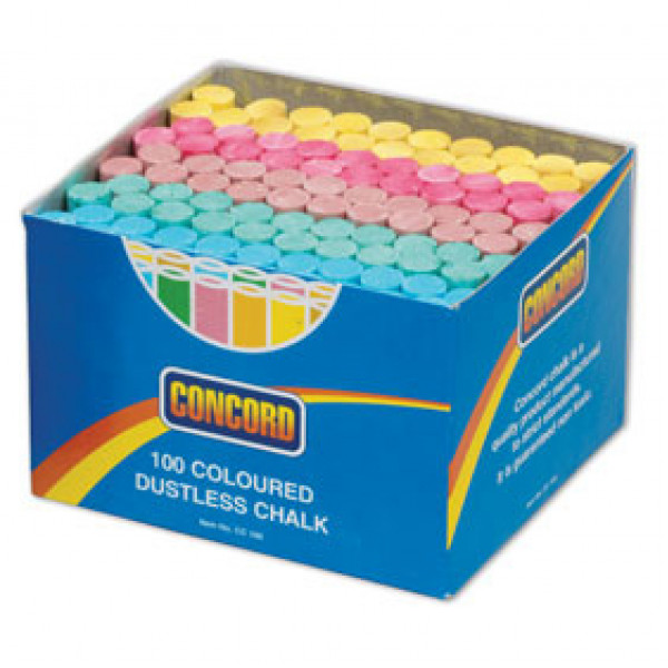 Colour Chalk - Box of assorted colours