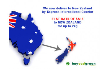 NEW: We can now send small orders (under 2kg) to New Zealand