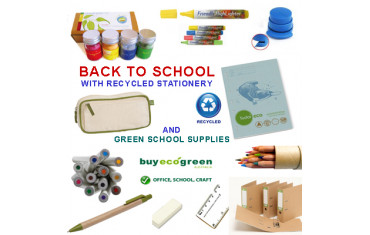 Back to School in 2013 with green school supplies