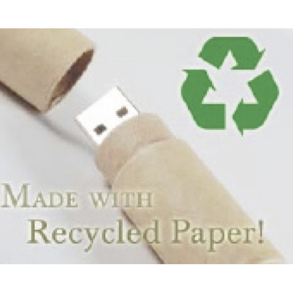 Recycled Paper USB Drive (8GB)