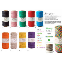 New to the Store - new Hemp Twine Colours