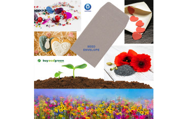 New to the Store: Recycled Seed Envelopes
