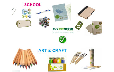 Back to School in 2014 with recycled stationery and green school supplies!