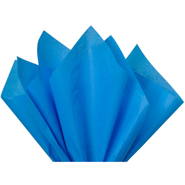 Recycled Tissue Paper - Bright Blue 100% Recycled ...