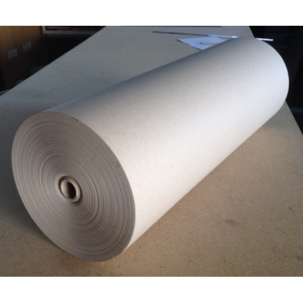 Recycled Brown Wrapping Paper Reel 105gsm, 600mm wide, 200m long