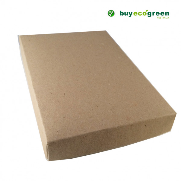 Recycled Gift Box (C6) - Natural Kraft (Pack of 5)
