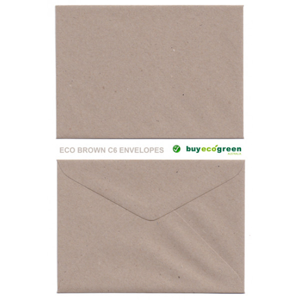 Eco C6 Recycled Envelopes Box of 450