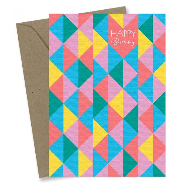Greeting Cards – Happy Triangles