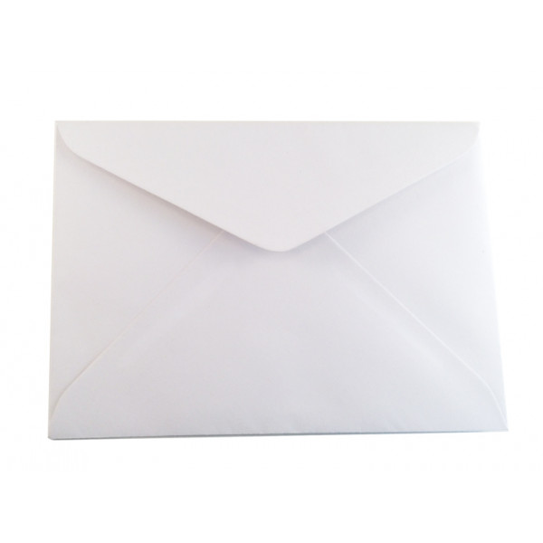 Eco White C6 Envelopes (Pack of 50)