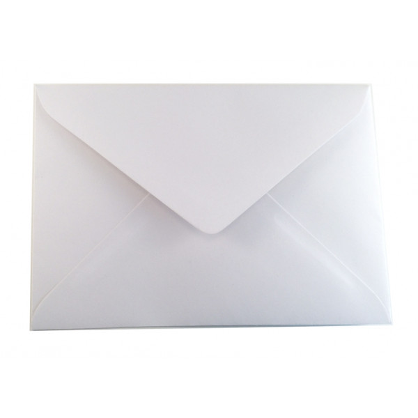 Eco White Greeting Card Envelopes (pack of 50)