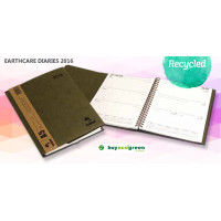 New to the Store - A5 Recycled Diaries 2016