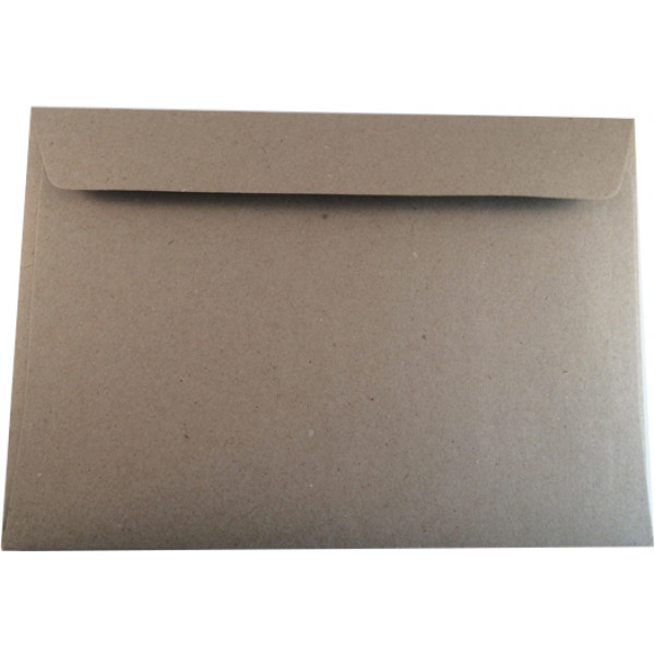 Eco Brown C5 Recycled Envelopes. Pack of 50