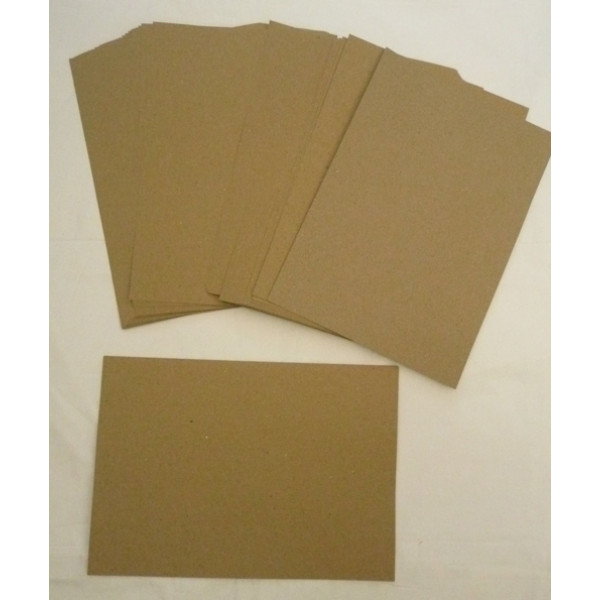 Eco Brown A4 320gsm Recycled Card (pack of 100 sheets)