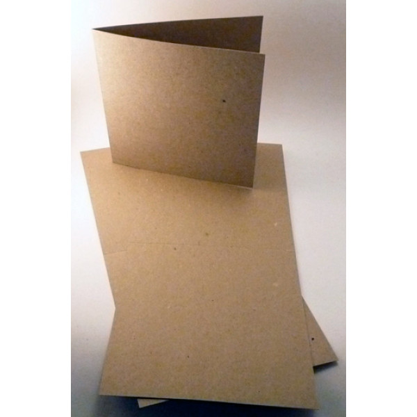 Eco Brown 230gsm Duplex recycled card 140mm x 280m...