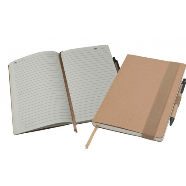 Eco Natural A5 Notebook