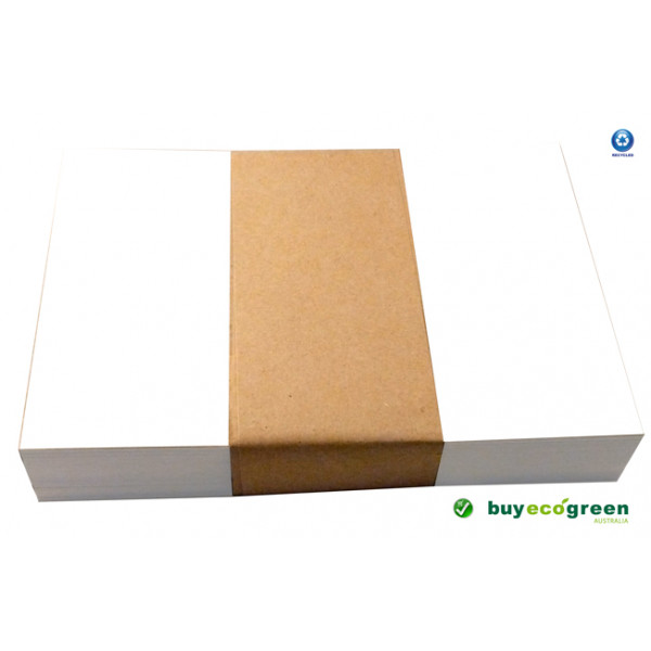 Eco White 300gsm Recycled A6 Postcards 148 x 105mm (pack of 100)