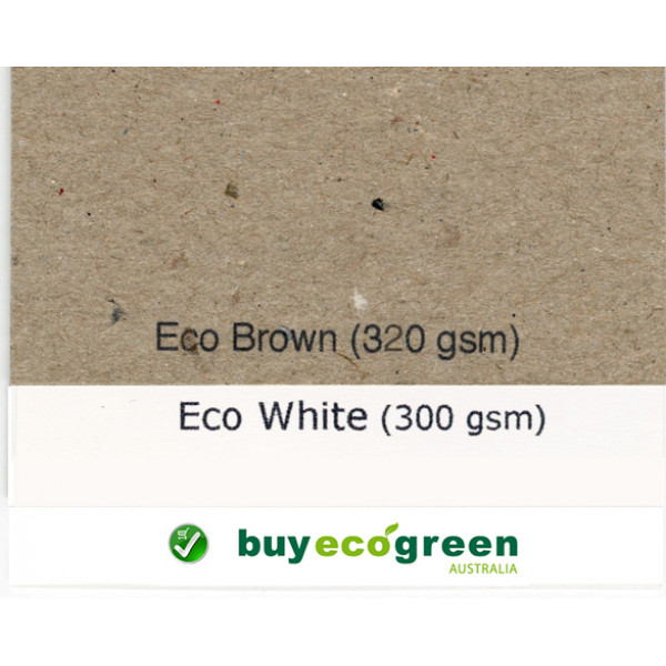 Recycled Presentation Folders A4 - Eco White (Pack of 10)