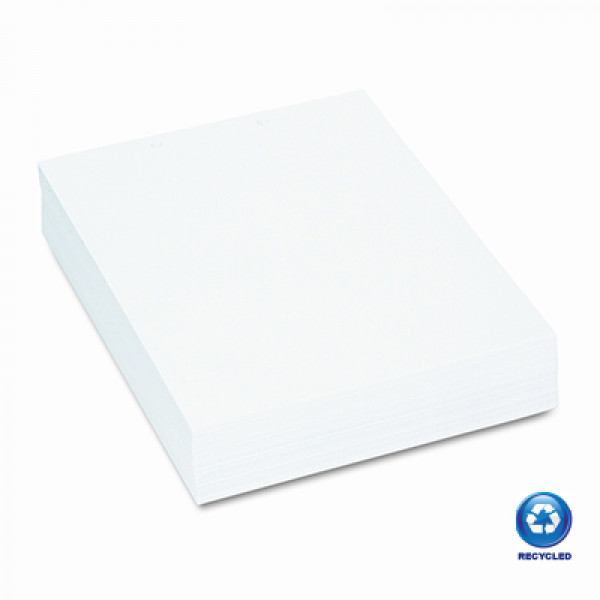 Eco White Recycled A4 Card 150gsm (pack of 100 sheets)