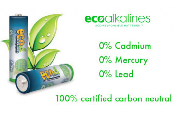 New to the Store - Eco Alkaline Batteries