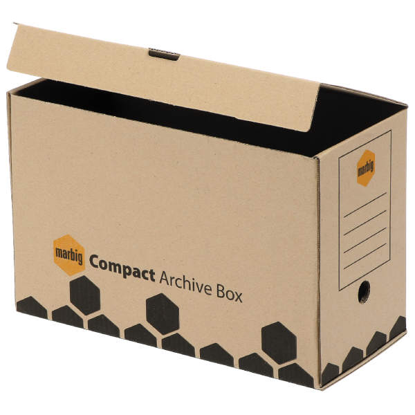 Recycled Compact Archive Box (Pack of 5)
