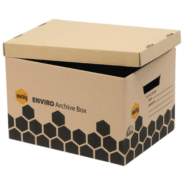 Recycled Archive Box (Pack of 5)