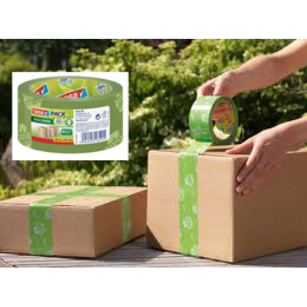 EcoLogo 100% Recycled Plastic Packing Tape (66m) | BuyEcoGreen Australia
