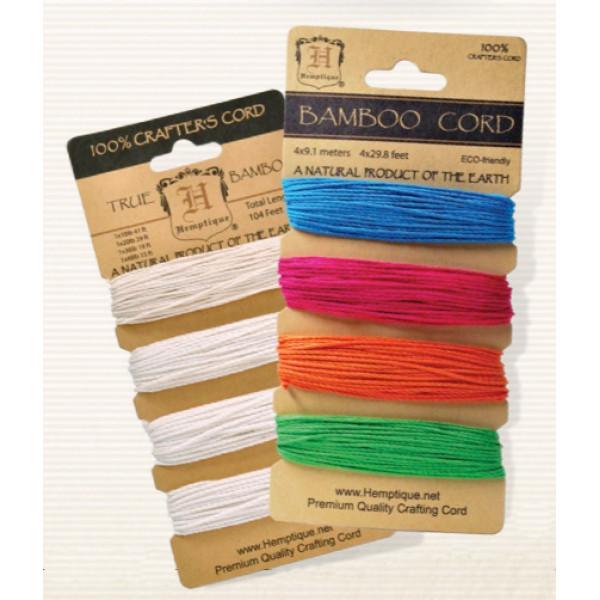 Bamboo Cord - Set of 4 weights Natural