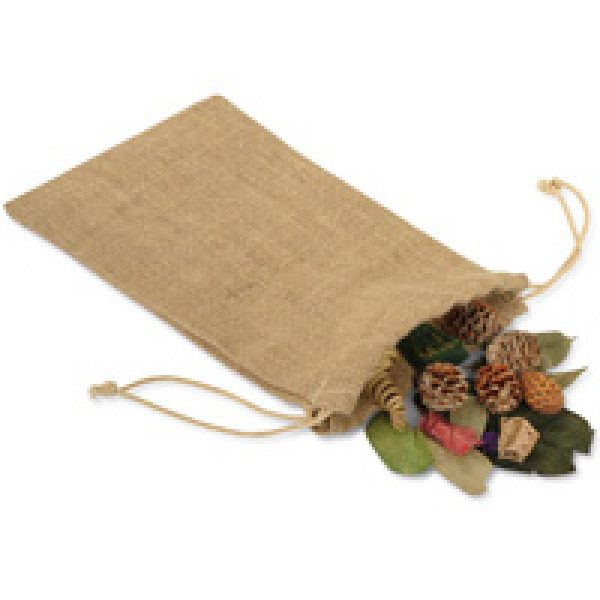 "Natural Jute Gift Bag 150mm x 255mm (6x10"")"