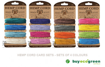 New to the Store - Hemp and Bamboo Cord Cards