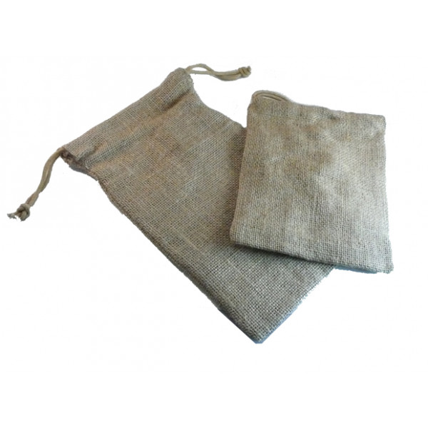 "Natural Jute Gift Bag 125mm x 175mm (5x7"")"