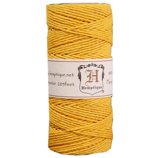 Hemp Twine - Yellow
