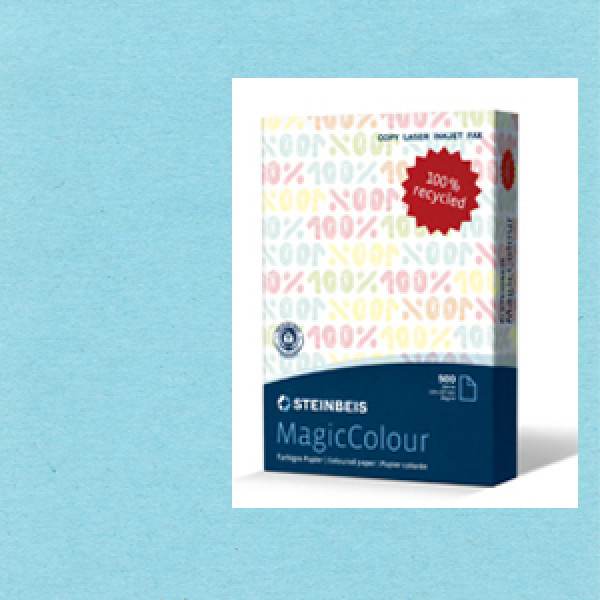 MagicColour A4 Recycled Copy Paper -  Dark Blue (Box of 5 reams)