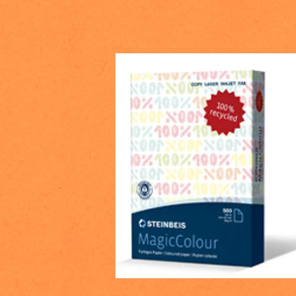 MagicColour A4 Recycled Copy Paper - Mandarin Oran...