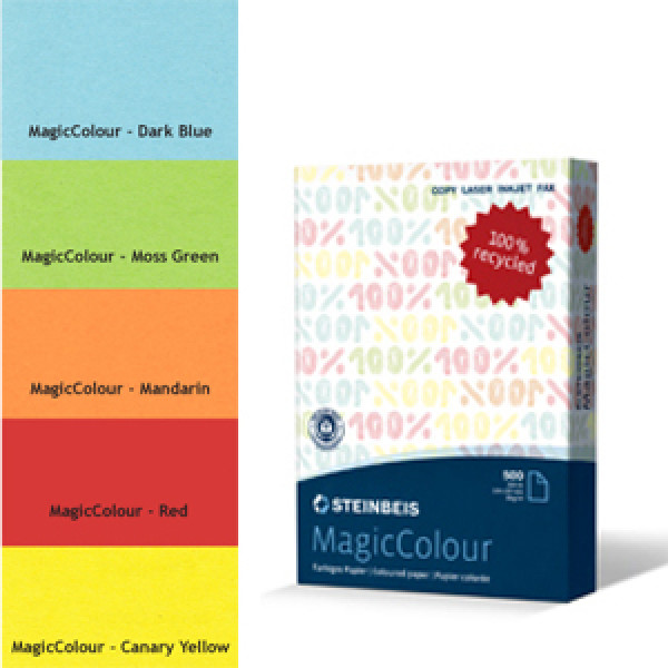 MagicColour A4 Recycled Copy Paper - Dark Blue