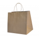 Recycled Brown Paper Small Boutique Carry Bag (Pack of 50)