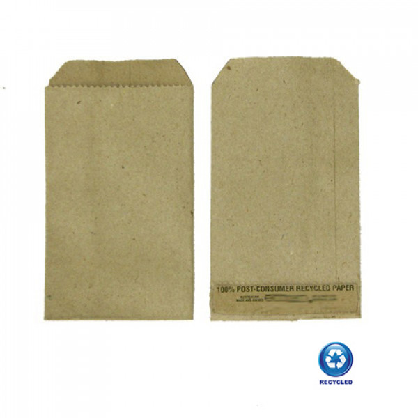 Recycled Paper Mini Bag 140x70mm - Pack of 100 Bag...