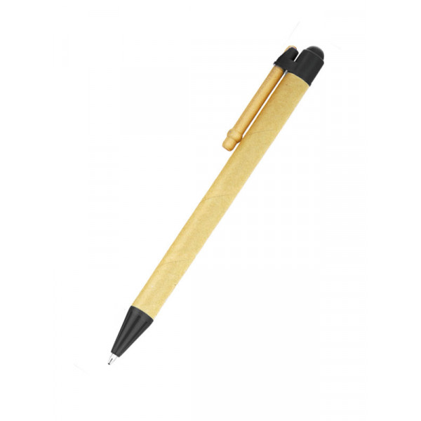 Tivoli Recycled Paper Click Pen (Black)