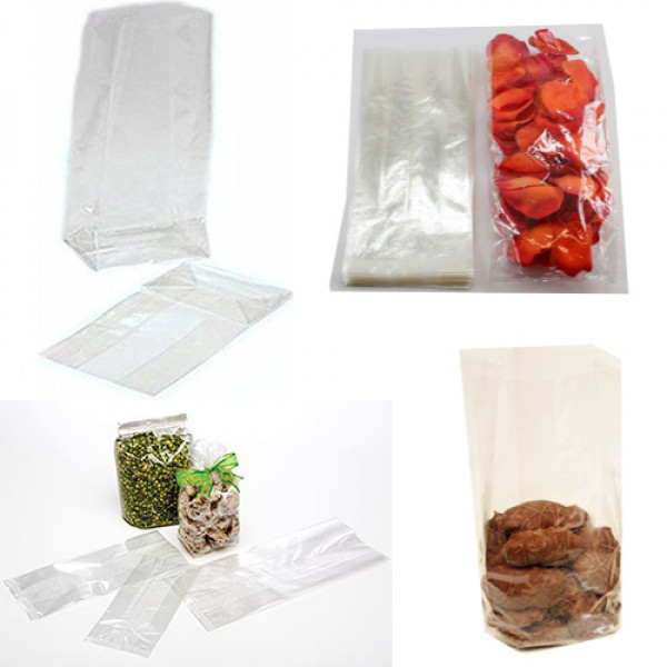 Cellophane Gusseted Bag 180 x 100 x 50mm (Pack of ...