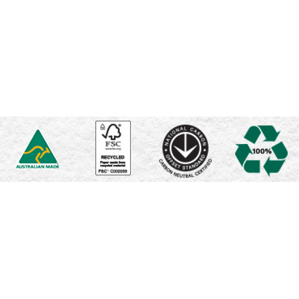 Planet Ark 100% Recycled Australian Copy Paper A4 (box of 5 reams)